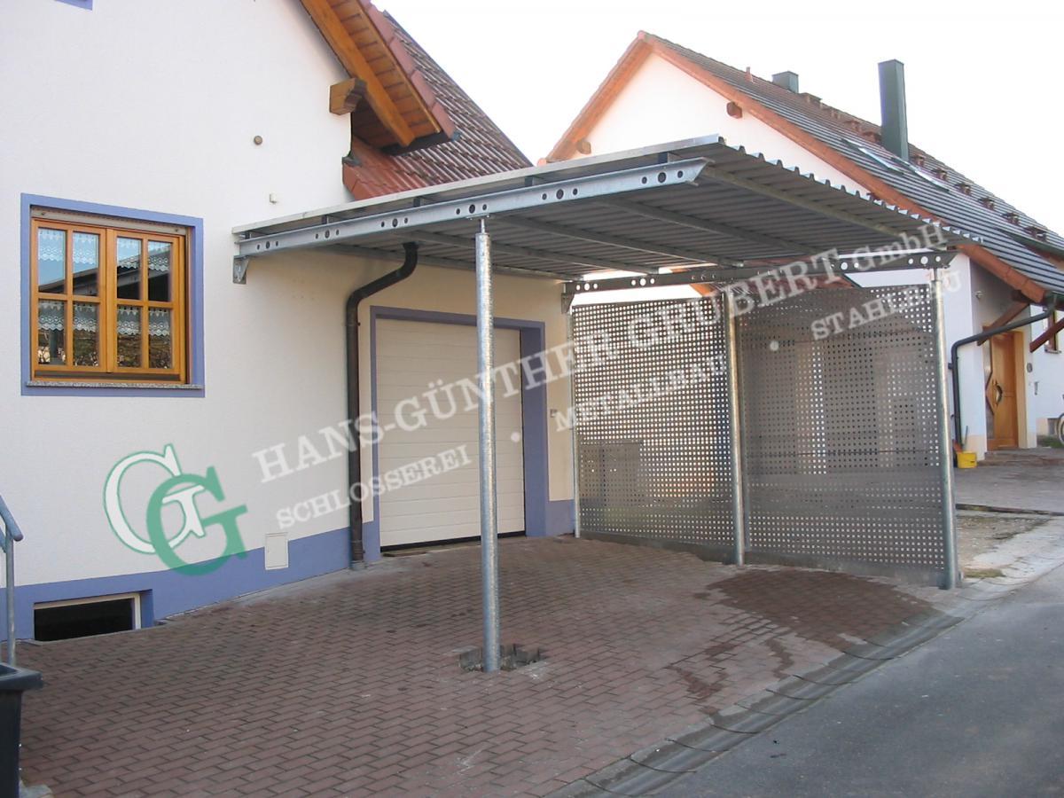 Fantastisch Carports | Metallbau Hans-Günther Grubert GmbH Bamberg - Hallstadt KS13